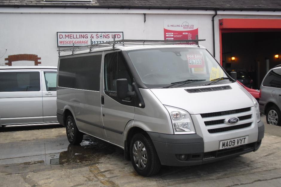 2009 Ford Transit Van D Melling Amp Sons